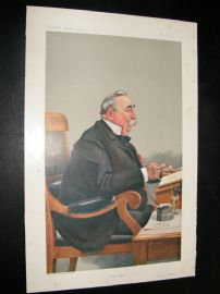 Vanity Fair Print 1908 Edward Snow Fordham